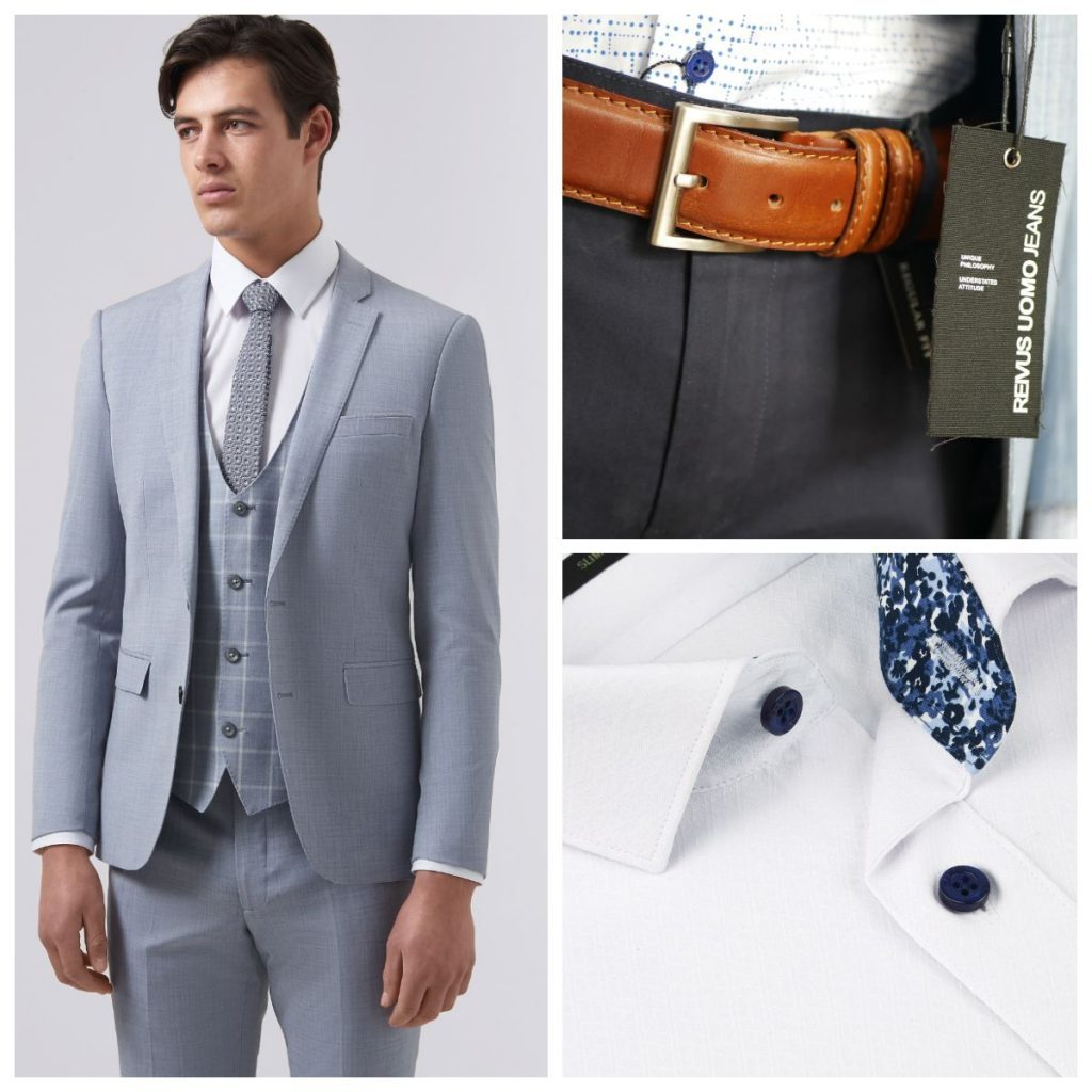 And don't forget our wide range of suits & shirts in our tailoring department.