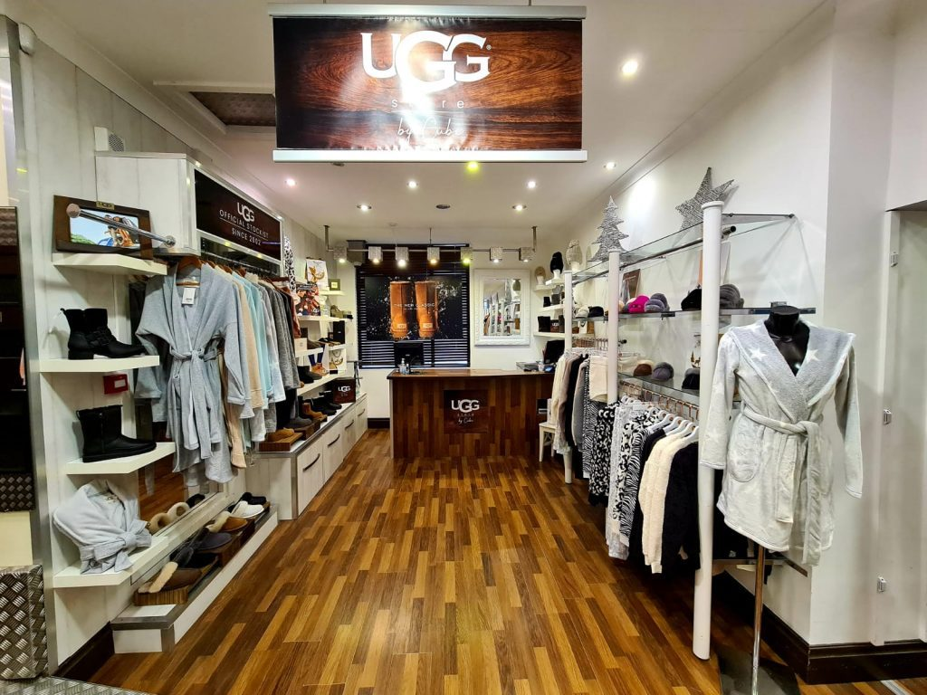 inside ugg store